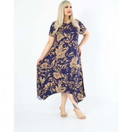 Разкроена макси рокля