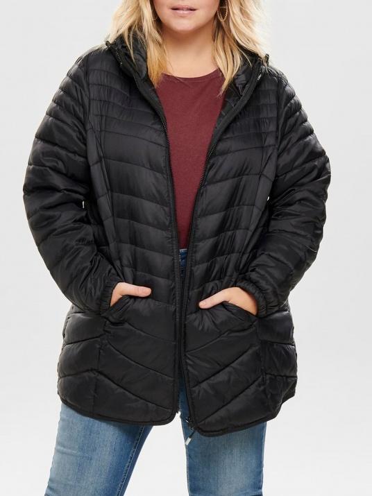 Черно яке  с  пълнеж от гъши влакна