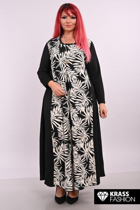 Разкроена макси рокля Класик