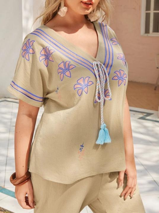 Блуза в бохо стил