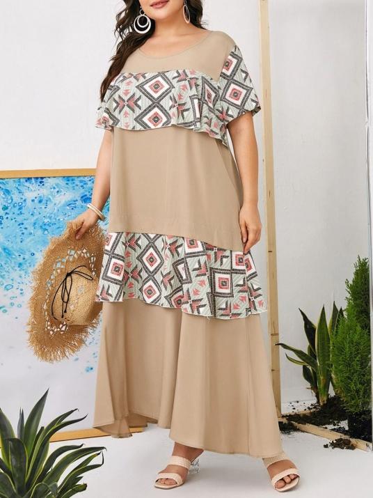 Дамска макси рокля с харбала