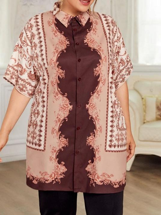 Стилна макси риза Версай