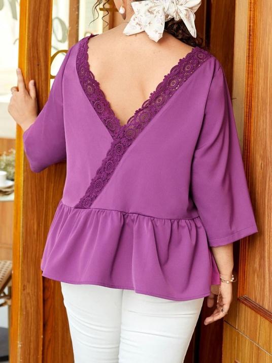 Елегантна блуза с красив гръб